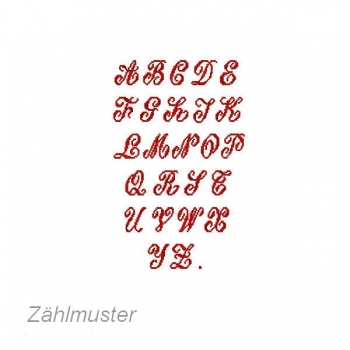 buchstaben sticken alphabet kreuzstich 413 z z hlmuster. Black Bedroom Furniture Sets. Home Design Ideas